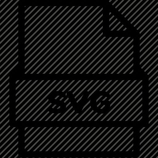 Extension, file, file format, file formats, format, svg, type icon - Download on Iconfinder