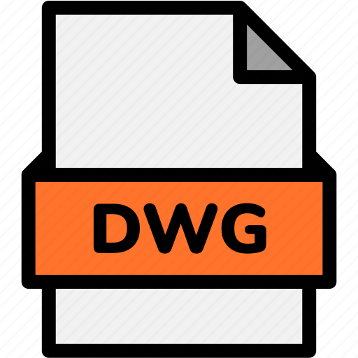 dwg, extension, file, file format, file formats, format, type icon