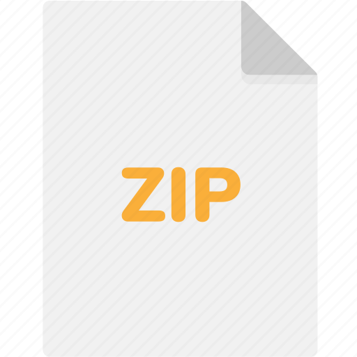 extension, file, file format, file formats, format, type, zip icon