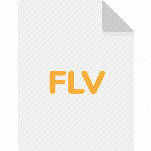 Extension, file, file format, file formats, flv, format, type icon - Download on Iconfinder