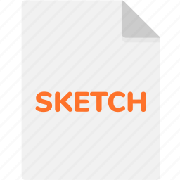 extension, file, file format, file formats, format, sketch, type icon