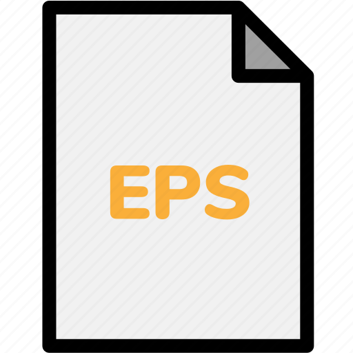 eps, extension, file, file format, file formats, format, type icon