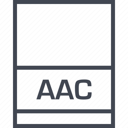 aac, file, name, page icon