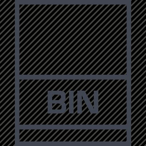 bin, file, name, page icon