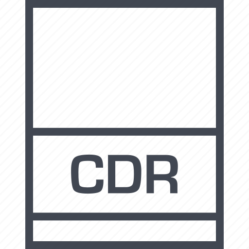 cdr, file, name, page icon