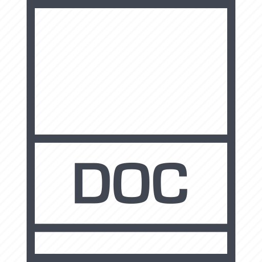 doc, file, name, page icon