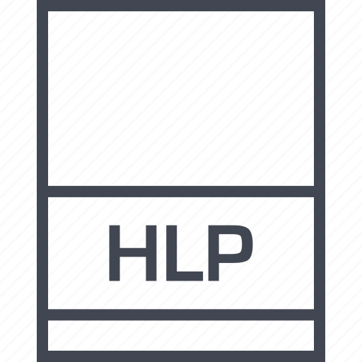file, hlp, name, page icon
