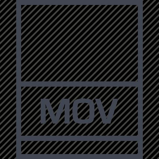 file, mov, name, page icon