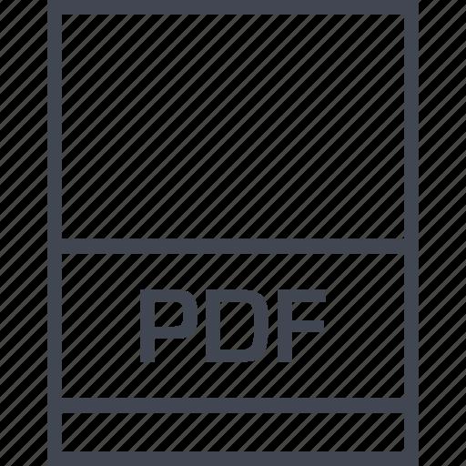 file, name, page, pdf icon