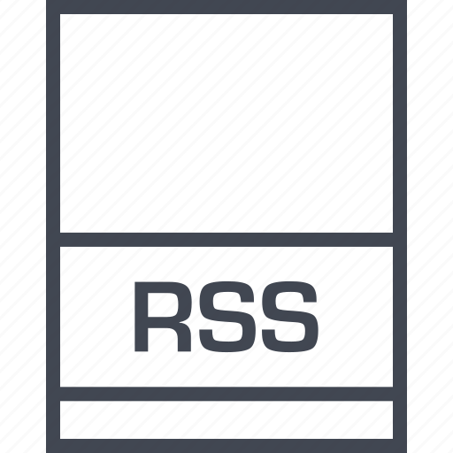 file, name, page, rss icon