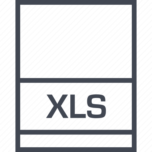 file, name, page, xls icon