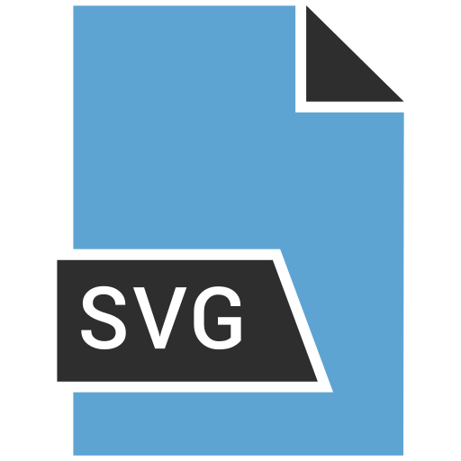 filetypes, svg, vector icon