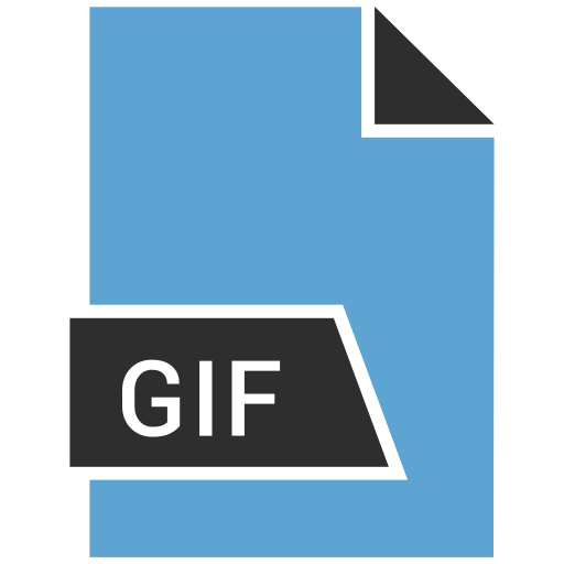 file format, gif, image icon