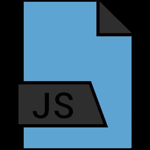 development, extension, javascript, js icon