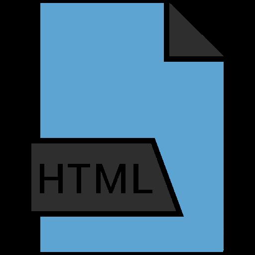code, coding, file, html icon