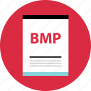 bmp, document, file, name, page, type icon