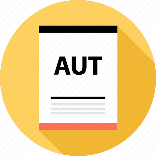 aut, document, file, page, type icon