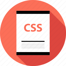 css, document, file, page, type icon