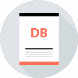 db, document, file, page, type icon