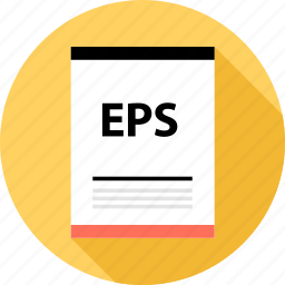 document, eps, file, page, type icon