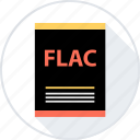 document, file, flac, page, type icon