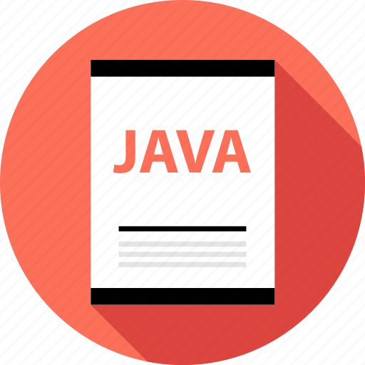 document, file, java, page, type icon