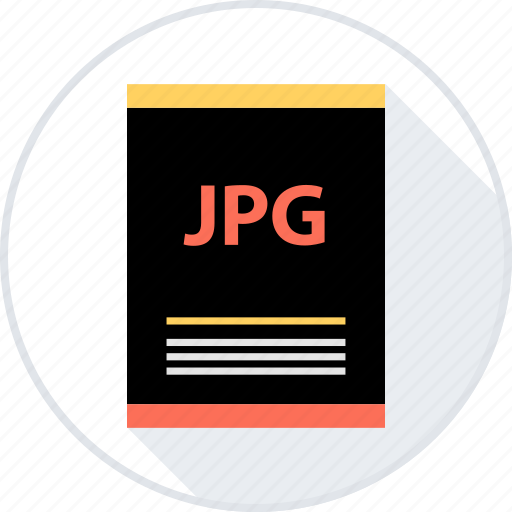 document, file, jpg, page, type icon