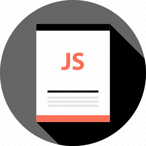 document, file, js, page, type icon