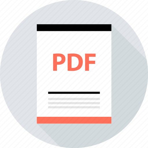 document, file, page, pdf, type icon