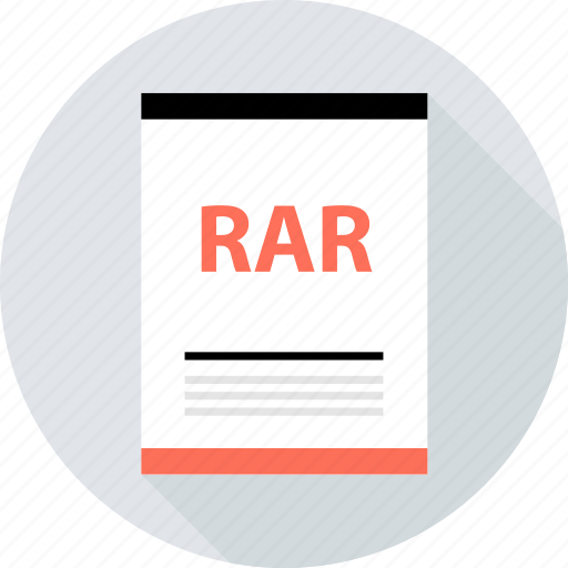 document, file, page, rar, type icon