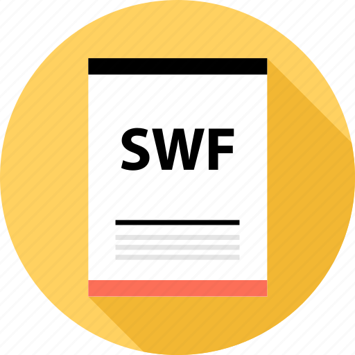document, file, page, swf, type icon