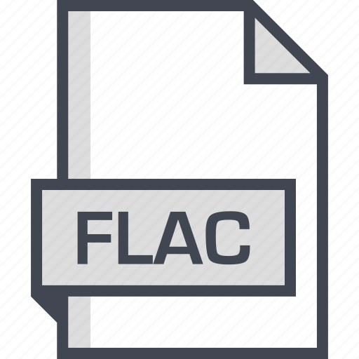 document, extension, flac, name icon