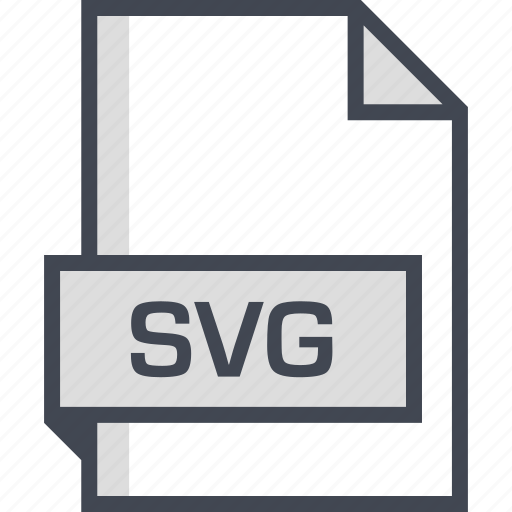 document, extension, name, svg file icon