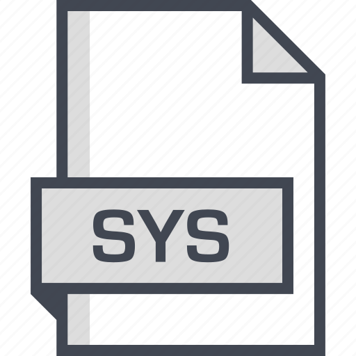 document, extension, name, sys icon