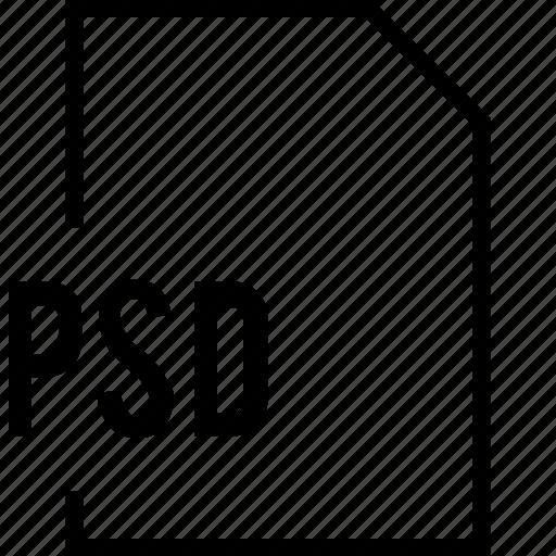 file, name, psd icon