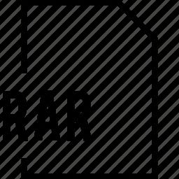 file, name, rar icon