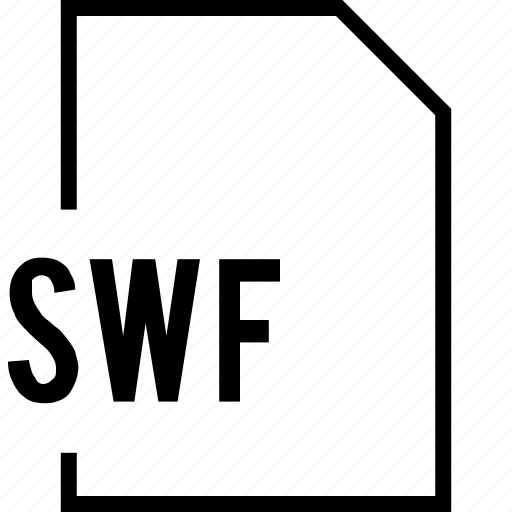 file, name, swf icon