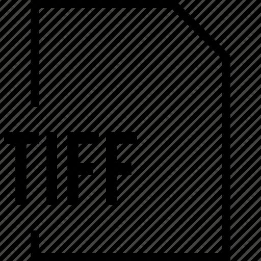 file, name, tiff icon