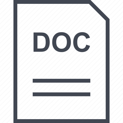 doc, document, file, name icon