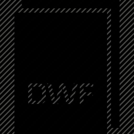 dwf, extension, file, name, type icon