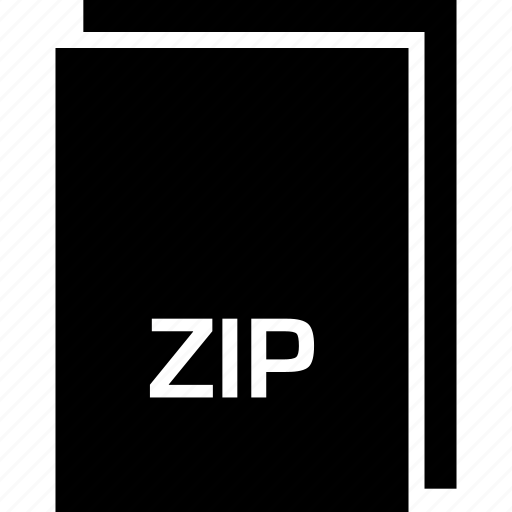 extension, file, name, type, zip icon