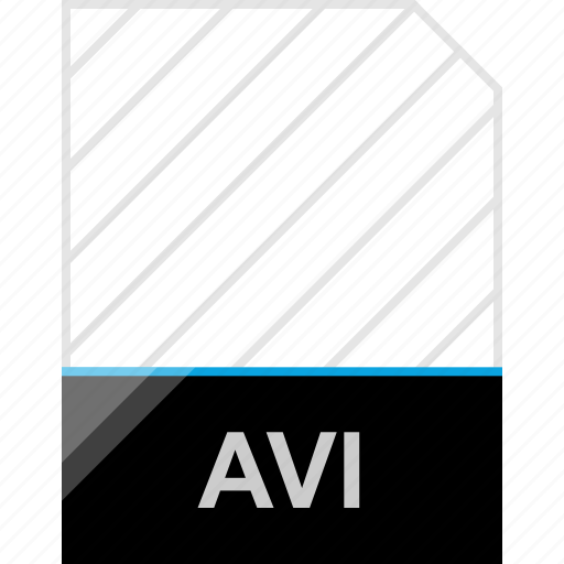 avi, extension, page icon