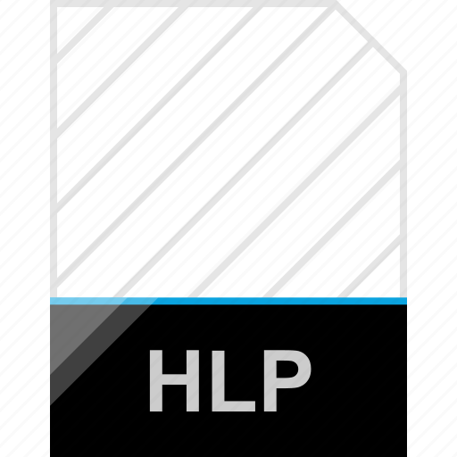extension, hlp, page icon