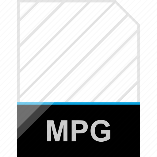 extension, mpg, page icon