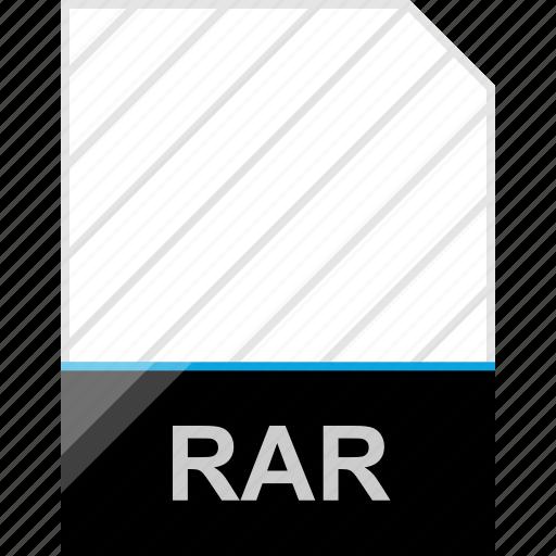extension, page, rar icon