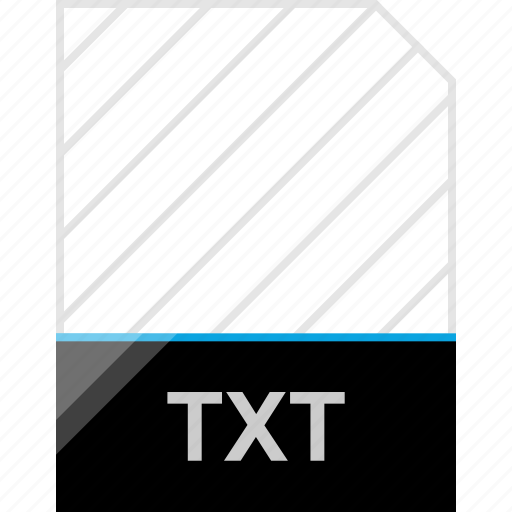 extension, page, txt icon