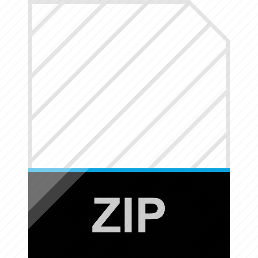 extension, page, zip icon