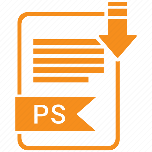 extensiom, file, file format, ps icon