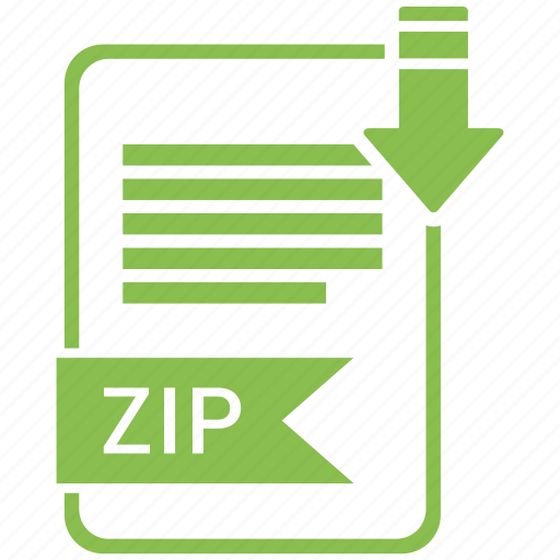 extensiom, file, file format, zip icon
