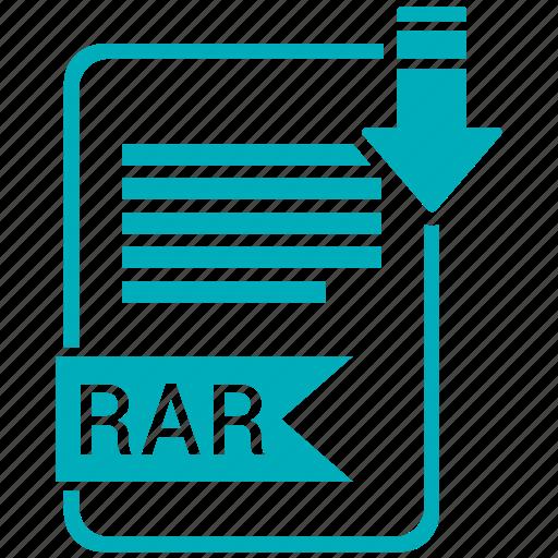 file format, image, rar icon